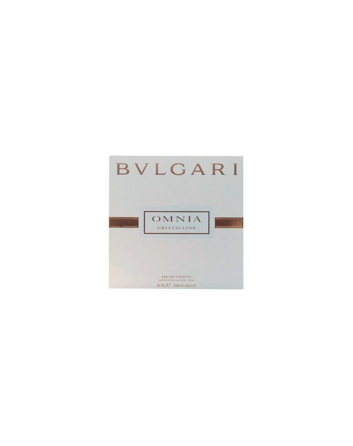 DAMESPARFUM OMNIA CRYSTALLINE BVLGARI EDT SATIN POUCH 25 ML