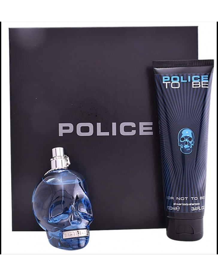 PARFUMSET VOOR HEREN TO BE OR NOT TO BE POLICE (2 PCS)