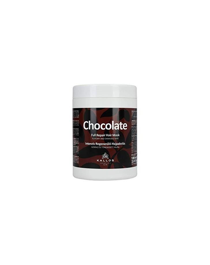 HAARMASKER KALLOS CHOCOLATE 1000 ML
