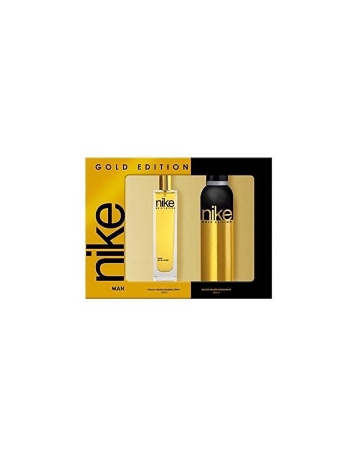 NIKE SET GOLD EDITION EAU DE TOILETTE 100 ML