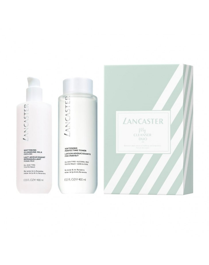 LANCASTER DUO CLEANSER SOFTENING SET 2 PCS