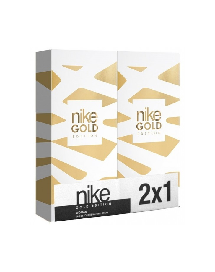 NIKE GOLD EDITION WOMAN EDT 2 X 100 ML