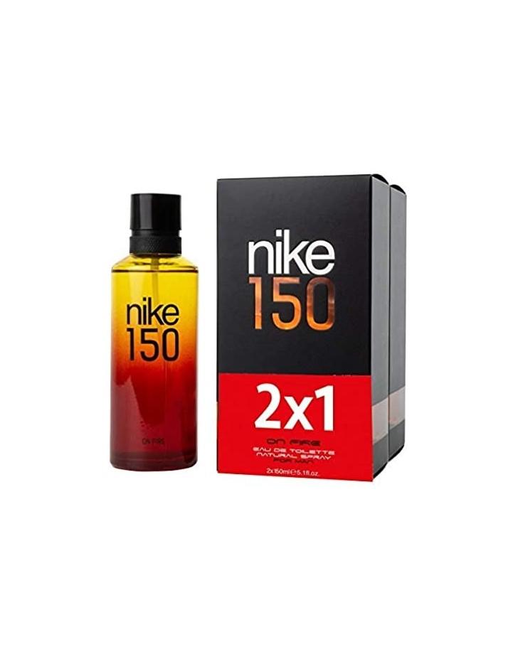 NIKE 150 ON FIRE EAU DE TOILETTE 2X150 ML