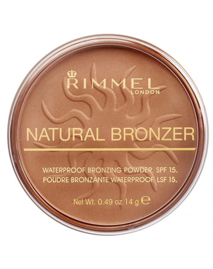 RIMMEL LONDON NATURAL BRONZER 021 SUN LIGHT