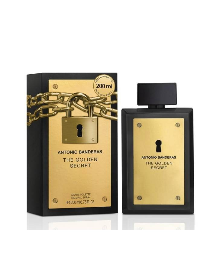 ANTONIO BANDERAS - GOLDEN SECRET EDT  100 ML