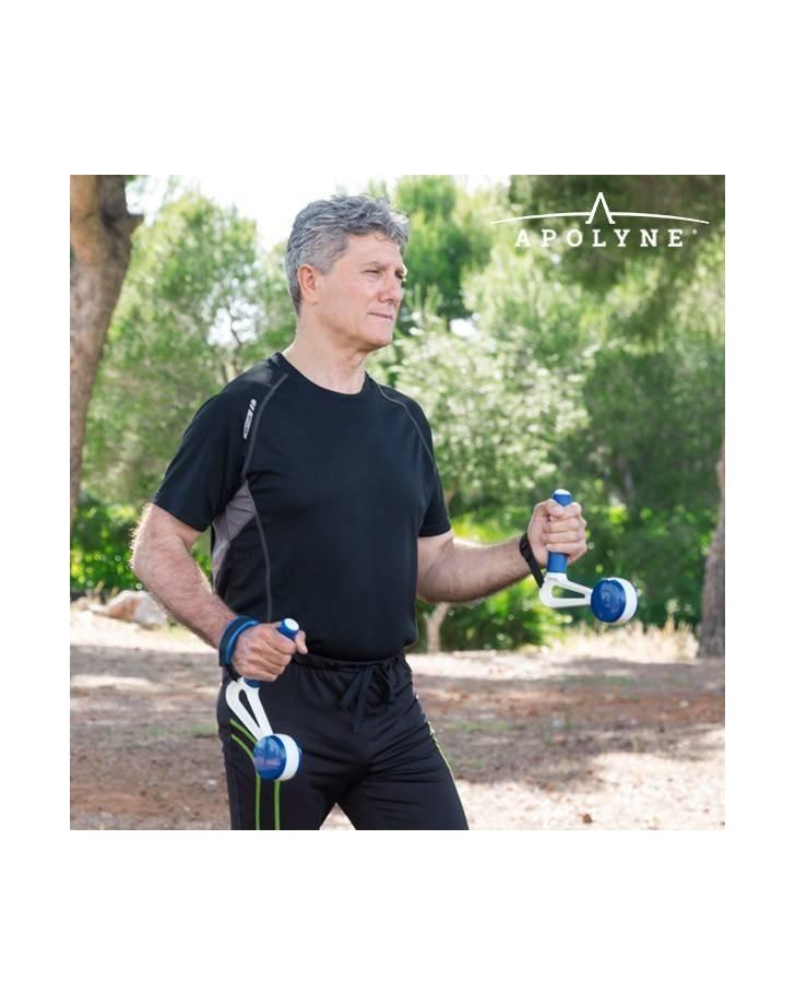 Walk & Weight Gewichtsmanchetten met Handgrepen (pak van 2)