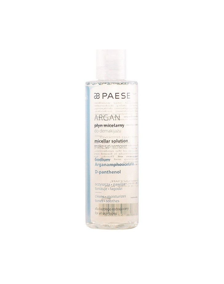 PAESE - MICELLAR WATER ARGAN MAKE UP REMOVER